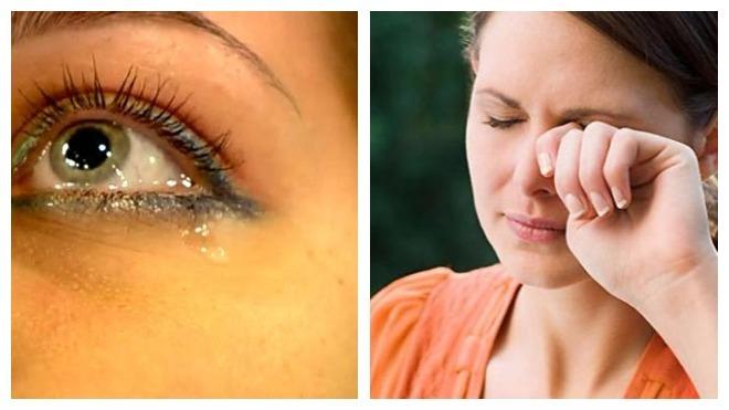 Песок в глазах лечение