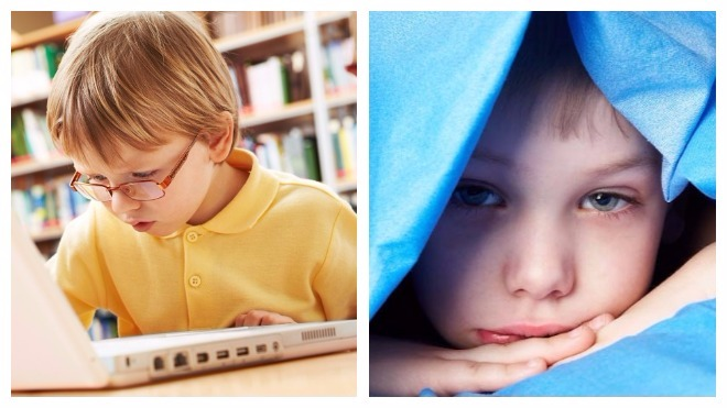 причины мешков под глазами у ребенка